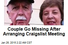 Couple Goes Missing After Setting Up Craigslist Meeting