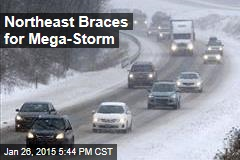 Northeast Braces for Mega-Storm