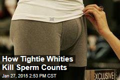 How Tightie Whities Kill Sperm Counts