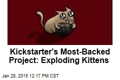 Kickstarter's Most-Backed Project: Exploding Kittens