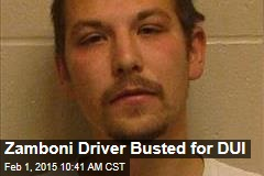 Zamboni Driver Busted for DUI