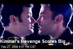 Kimmel's Revenge Scores Big