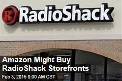 Amazon Might Buy RadioShack Storefronts