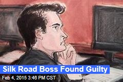 Silk Road Boss Found Guilty