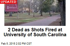 Shots Fired at University of South Carolina