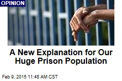 A New Explanation for Our Huge Prison Population