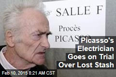 Picasso's Electrician Goes on Trial Over Lost Stash