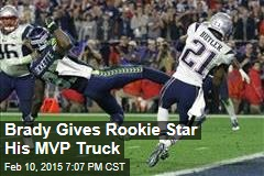 Brady Gives Rookie Star His MVP Truck