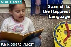 Spanish Is the Happiest Language