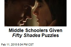Middle Schoolers Given Fifty Shades Puzzles