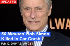60 Minutes ' Bob Simon Killed in Car Crash