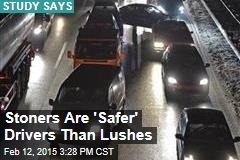 Stoners Are 'Safer' Drivers Than Lushes