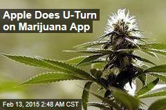 Apple Does U-Turn on Marijuana App