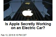 Is Apple Secretly Working on an Electric Car?
