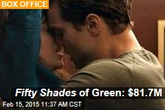 Fifty Shades of Green: $81.7M