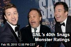 SNL's 40th Snags Monster Ratings