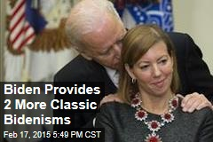 Biden Provides 2 More Classic Bidenisms