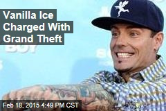 Vanilla Ice Charged With Grand Theft
