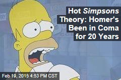 Hot Simpsons Theory: Homer's Been in Coma for 20 Years