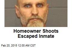 Homeowner Shoots Escaped Inmate