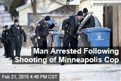 Man Arrested Following Shooting of Minneapolis Cop