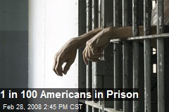 1 in 100 Americans in Prison