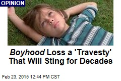 Boyhood Loss a 'Travesty' That Will Sting for Decades