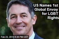 US Names 1st Global Envoy for LGBT Rights