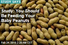 To Avoid Peanut Allergies, Kids Should Eat Peanuts