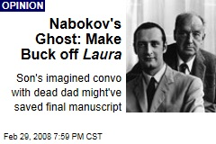 Nabokov's Ghost: Make Buck off Laura