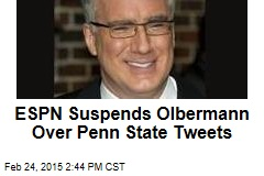 ESPN Suspends Olbermann Over Penn State Tweets