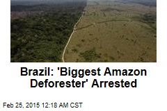 Brazil: 'Biggest Amazon Deforester' Arrested