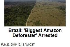 Brazil: 'Biggest Amazon Deforester' Arrested