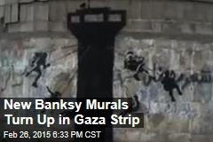 New Banksy Murals Turn Up in Gaza Strip