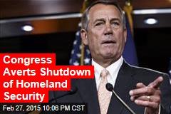 Deal to Avoid Homeland Security Shutdown Fails in House
