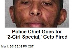 Police Chief Charged With Hiring 2 Prostitutes