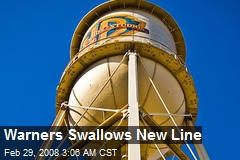 Warners Swallows New Line