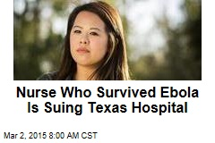 Nurse Who Survived Ebola: Hospital Failed Me