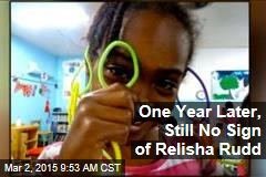 One Year Later, Still No Sign of Relisha Rudd