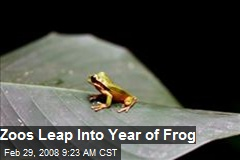 Zoos Leap Into Year of Frog