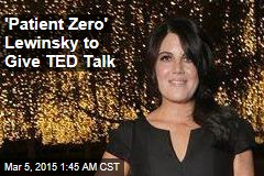 Lewinsky to Deliver TED Talk on Bullying