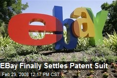 EBay Finally Settles Patent Suit