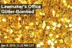 Anti-Abortion Lawmaker's Office Glitter Bombed