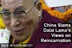China's Tibet Chief: Dalai Lama's Views 'Profane' Buddhism