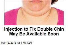 Injection to Fix Double Chin May Be Available Soon