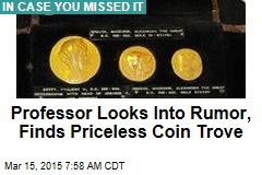 Rumor Leads to Library's Priceless Coin Trove
