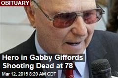 Hero in Gabby Giffords Shooting Dead at 78