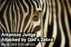 Arkansas Judge Attacked by Dad's Zebra