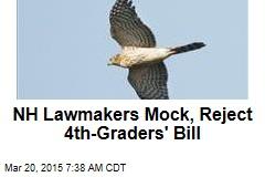 NH Lawmakers Mock, Reject 4th-Graders' Bill