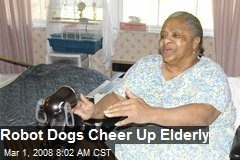 Robot Dogs Cheer Up Elderly